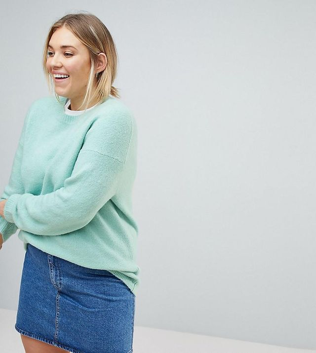 ASOS CURVE Chunky Oversized Sweater
