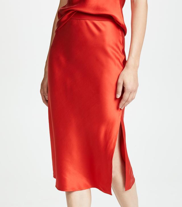 Pull On Slip Skirt