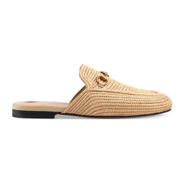 Princetown raffia slipper
