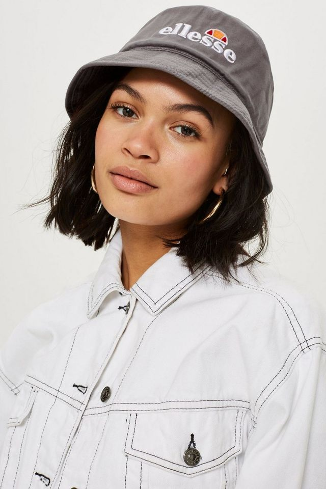 Grey Bucket Hat by Ellesse