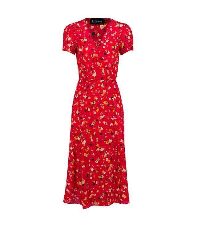 Réalisation Par The Teale Dress in Rouge Fleur