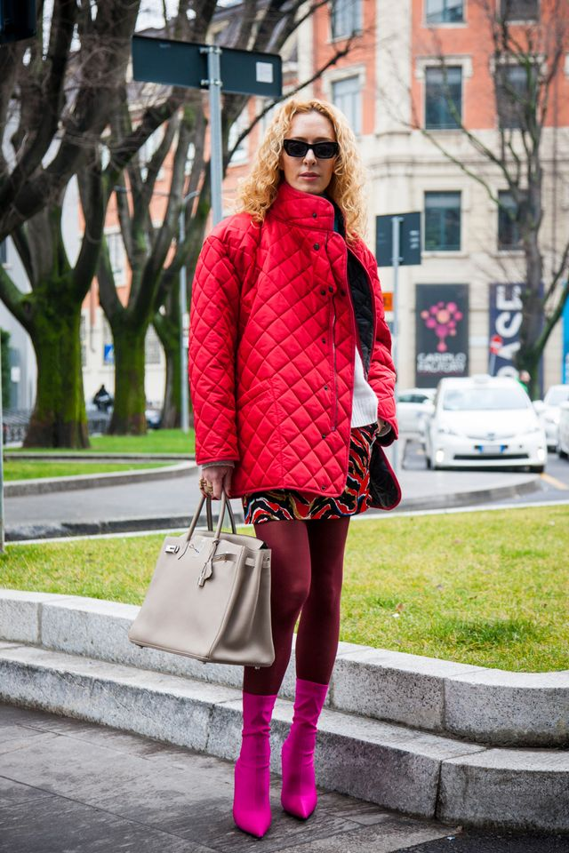If 2018's street style has proven one thing, it's that bright colours can (and should) be paired together. Case in point: The pink-and-red phenomena that has taken over the...