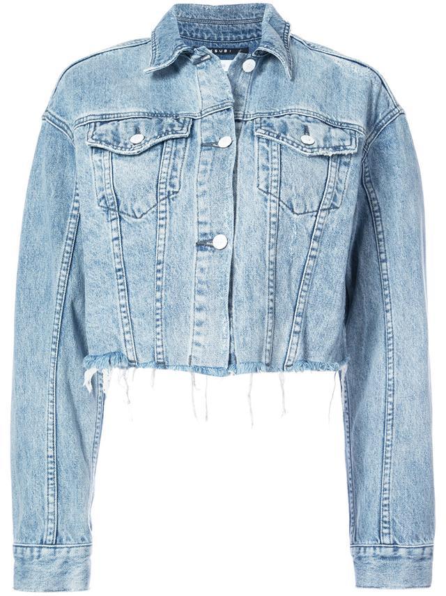 Ksubi Daggerz Cropped Denim Jacket