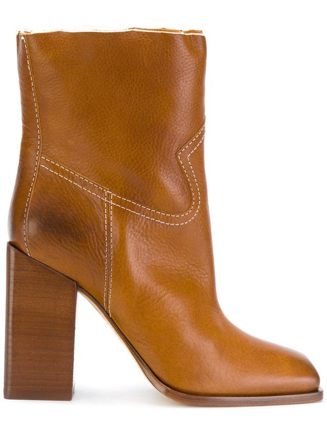 Jodie 105 Western ankle boots