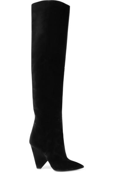 Niki Velvet Over-the-knee Boots