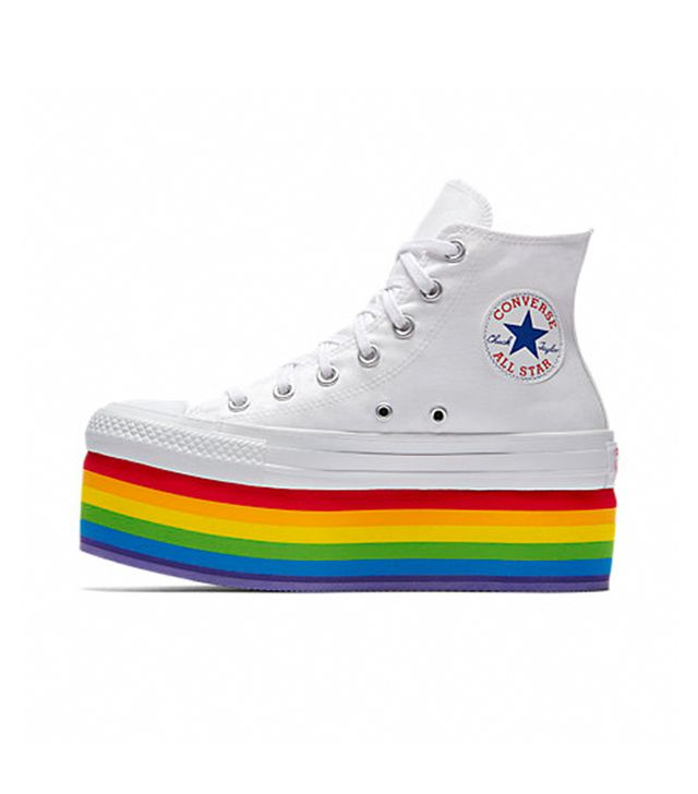 Converse Pride x Miley Cyrus Platform High Top