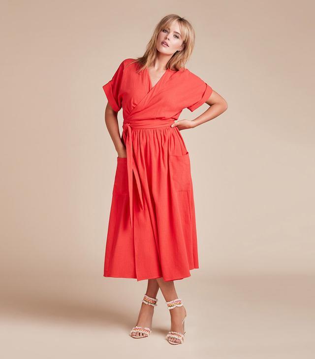 Mara Hoffman Ingrid Wrap Dress