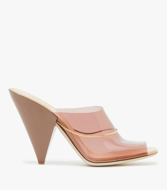 Sandals in Smoked Pink