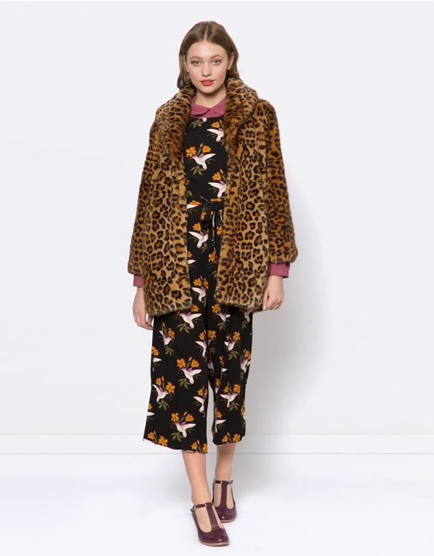 Princess Highway Marsha Faux Fur Coat
