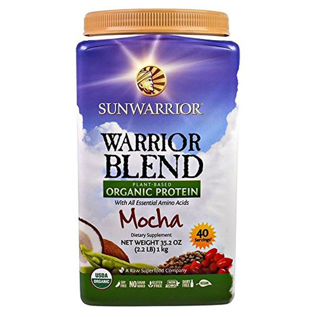 body weight set point: Sunwarrior Warrior Blend Organic Raw Vegan Protein Powder, Mocha