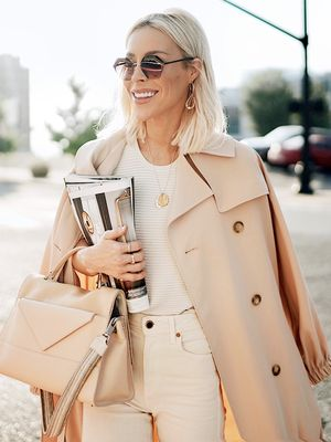 Take a Note From Happily Grey and Try These Sleek Sunglasses for Summer