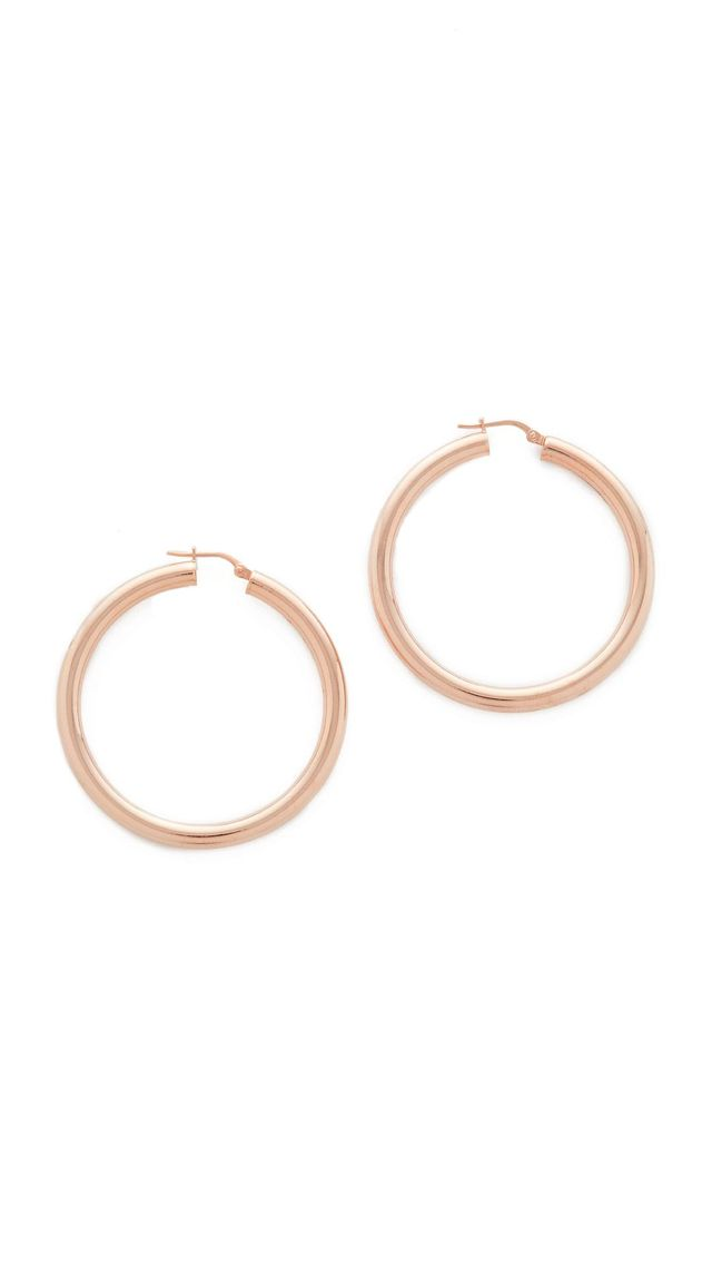 Purezza Medium Hoop Earrings