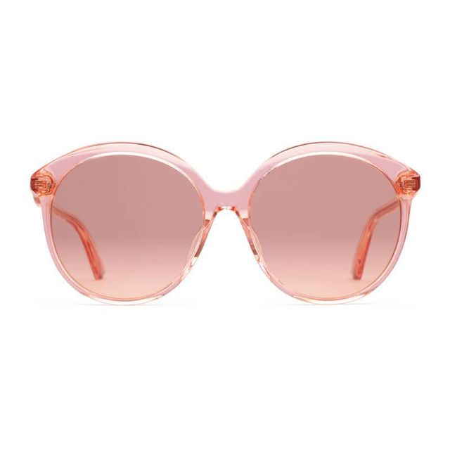 Specialized fit round-frame acetate sunglasses