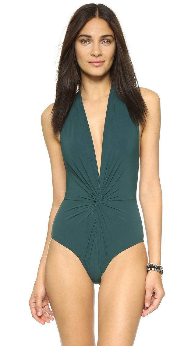 Low Back Plunge Swimsuit