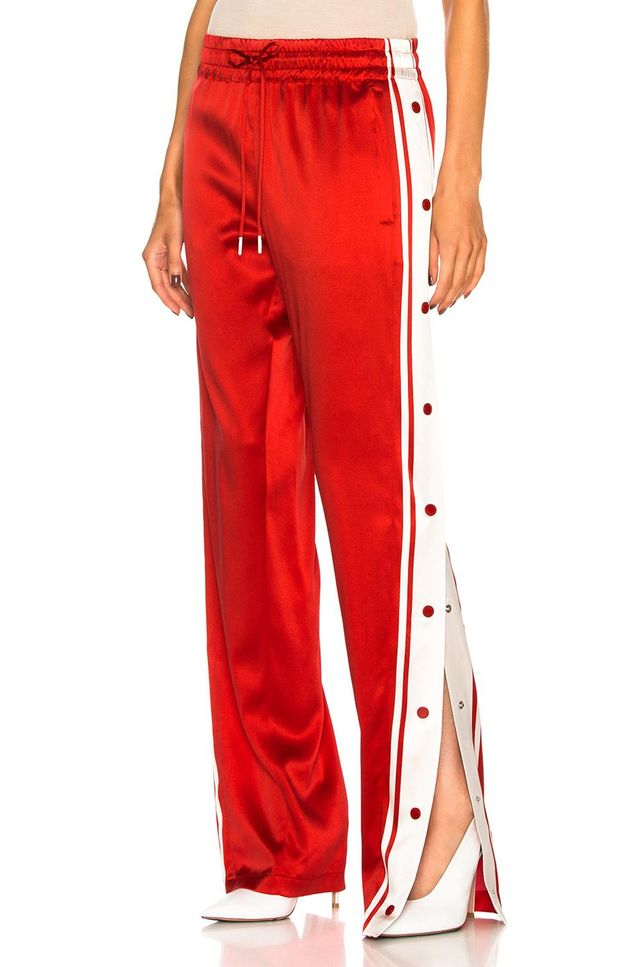 Side Snap Track Pant