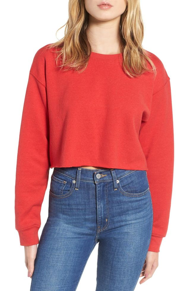 Gigi Crop Sweatshirt