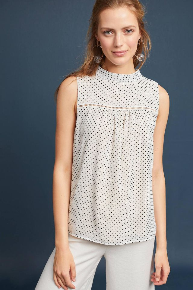 Dottie High-Neck Blouse