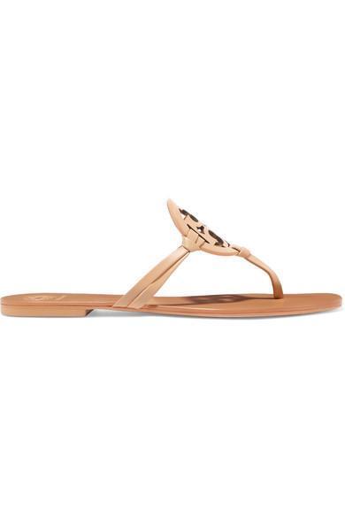 Miller Logo-embellished Leather Sandals