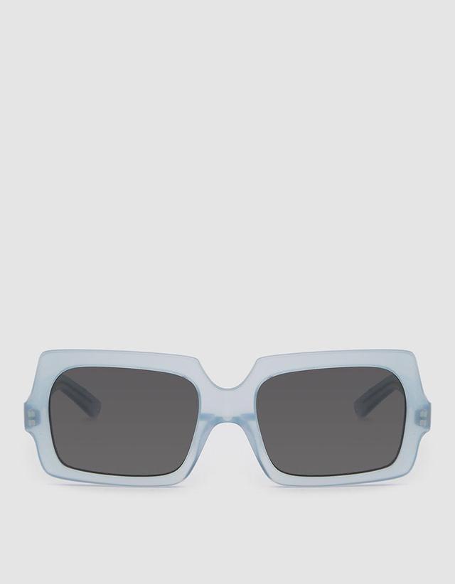 George Large Sunglasses in Light Blue