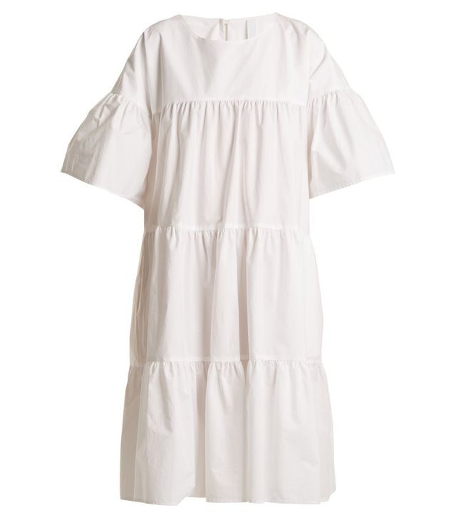 St Germain gathered cotton dress