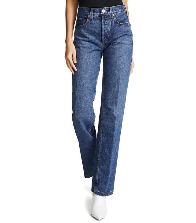 High Rise Medium Flare Jeans