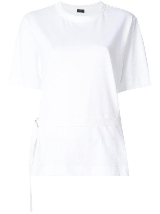 belt detail T-shirt