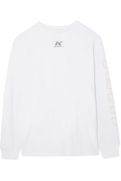 Sonoma Oversized Cotton-jersey Top