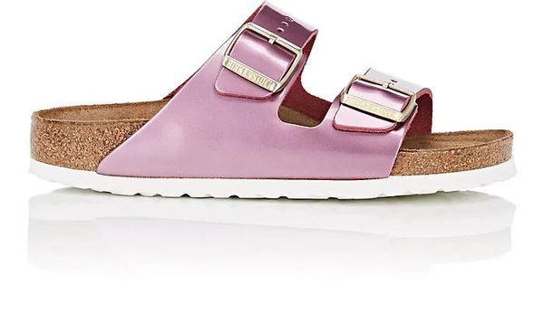 Women's Women's Arizona Patent Leather Double-Buckle Sandals