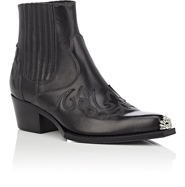 Women's Cal Calveta Leather Ankle Boots