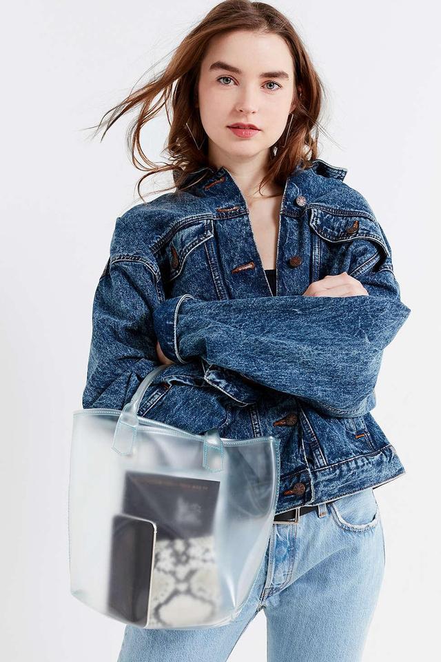 Clear Mini Tote Bag