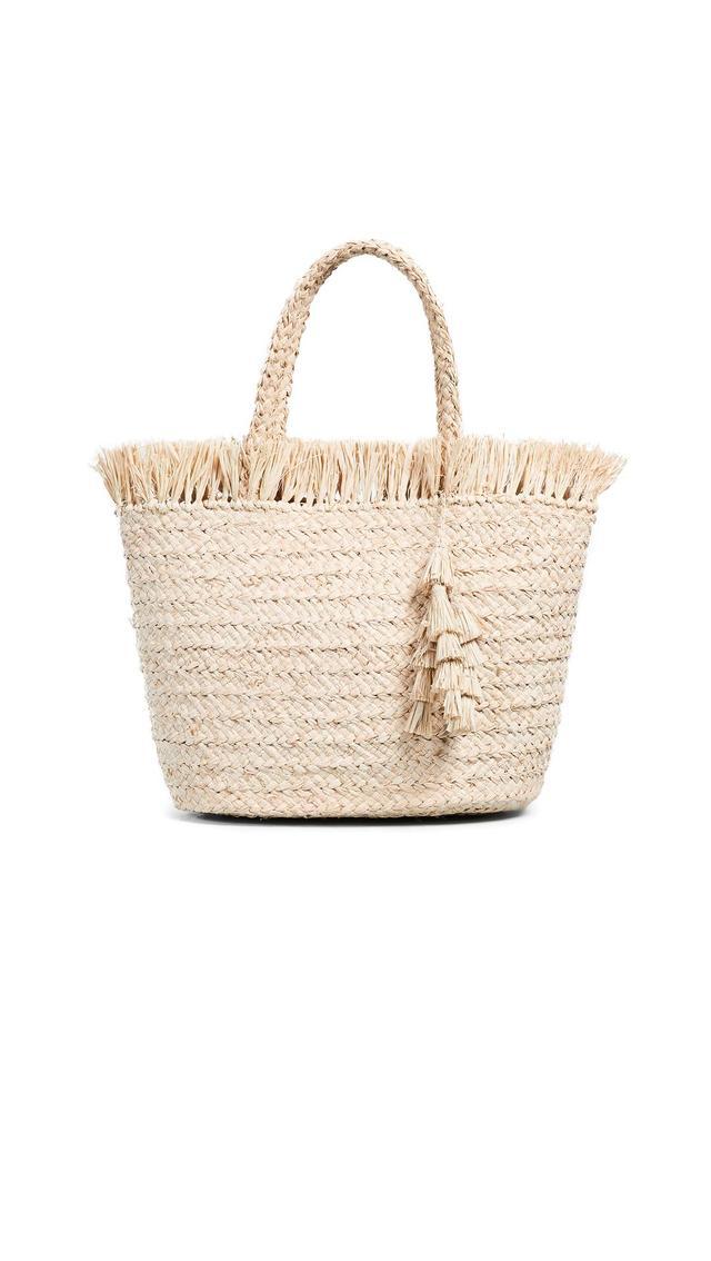 Frayed Top Tote Bag