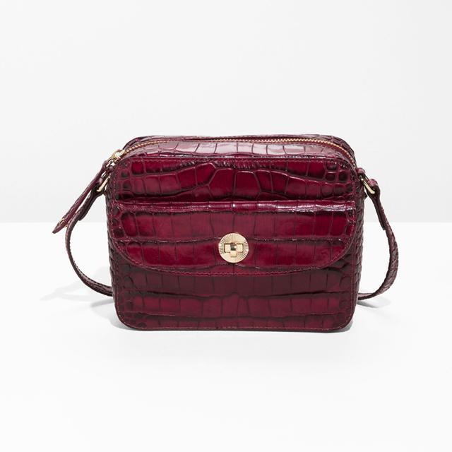 & Other Stories Mini Leather Shoulder Bag