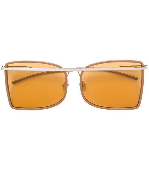 Calvin Klein Orange Lens Sunglasses