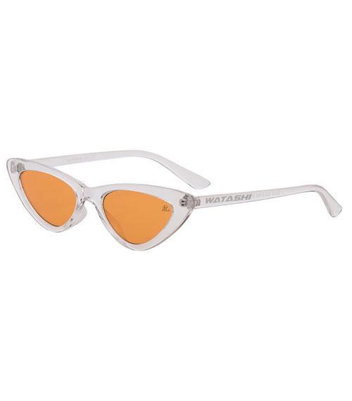 Cat- Eye Orange Lens Sunglasses