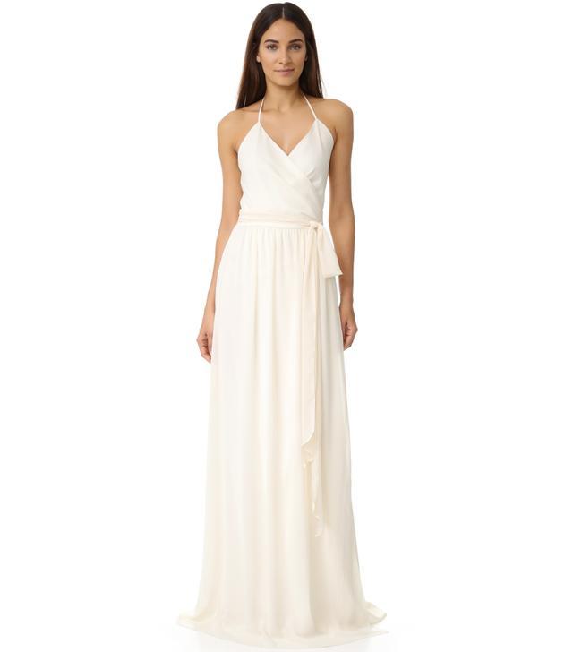 halter wedding dresses joanna august
