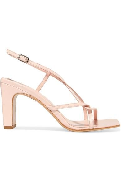 Carrie Leather Slingback Sandals