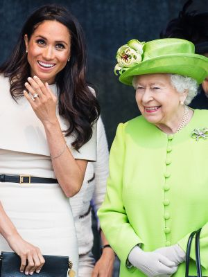 The Queen Gave the Prettiest Gift to Her New Best Friend Meghan Markle