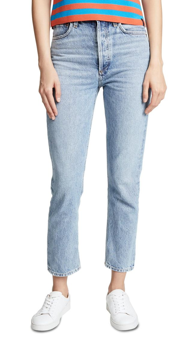 Riley High Rise Cropped Jeans