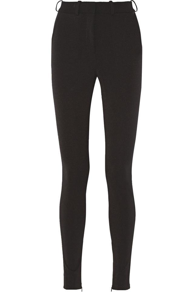 Stretch-Ponte Leggings-Style Pants