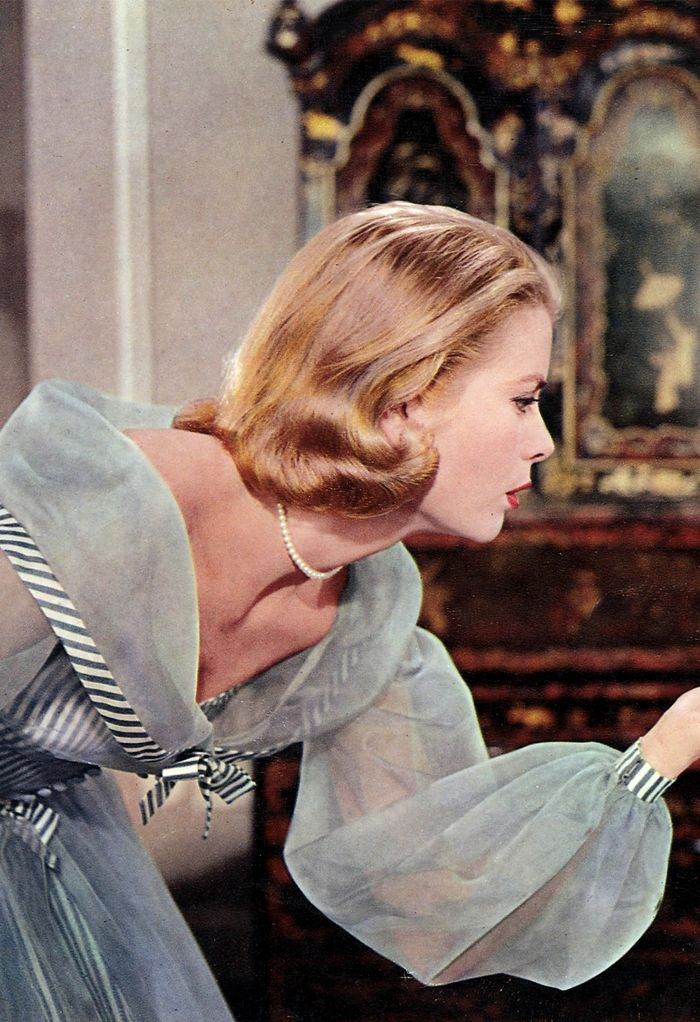 Best sheer blouses: Grace Kelly