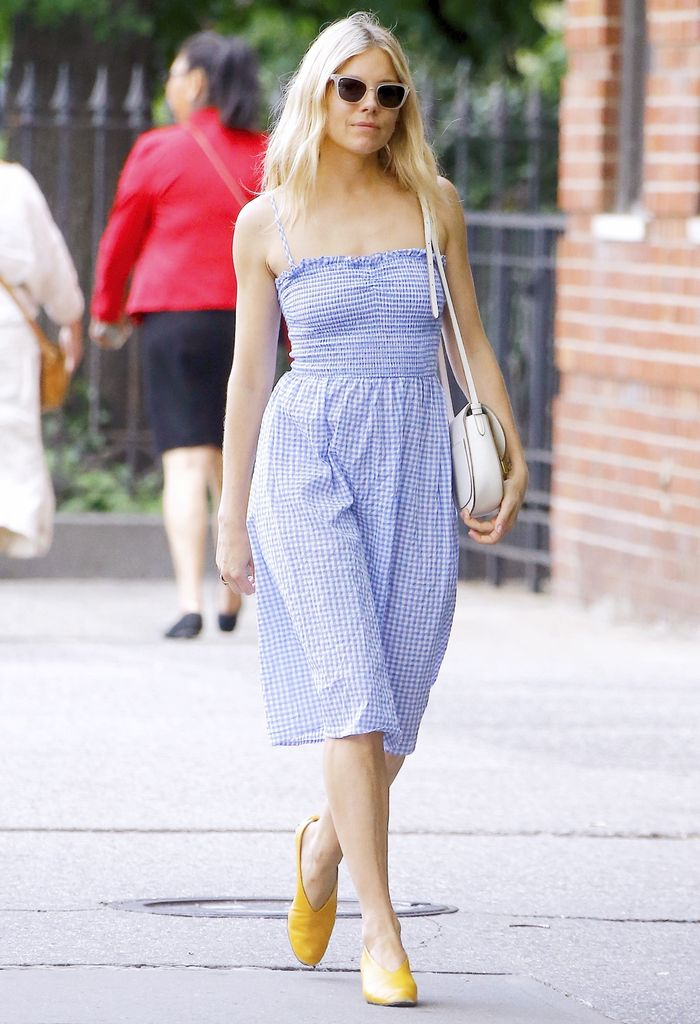 Sienna Miller Wore an Affordable H&M Dress