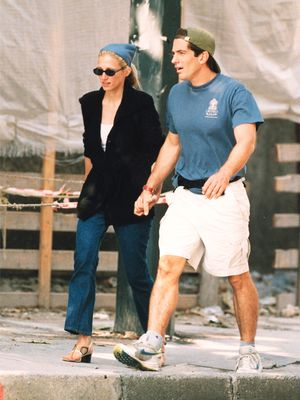 Carolyn Bessette-Kennedy Wore These Sunglasses, and Now I'm Trying Them