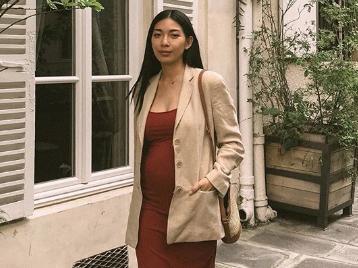 chic knit maternity dresses