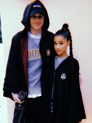 Ariana Grande Gave Us a New Look at Her Engagement Ring in This Intimate Pic