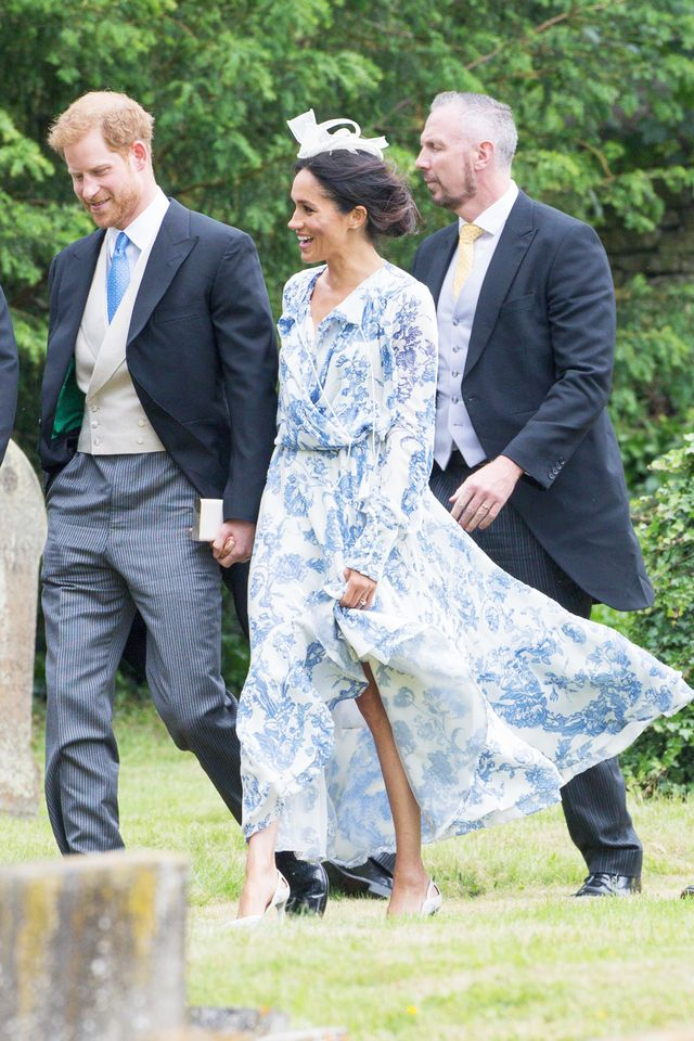 Meghan Markle S Dress Is The Perfect Wedding Guest Outfit
