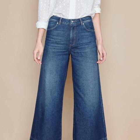 Wide Cropped Jean