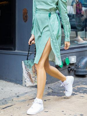 19 Wrap Dresses to Wear With Your White Sneakers