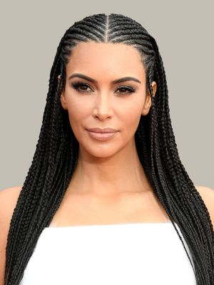 Kim Kardashian West Just Responded To The Backlash Over Her Controversial Braids