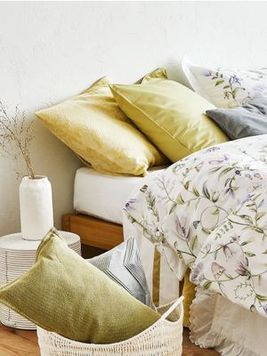 Zara Home's Dreamy Summer Bedding Line Will Convince You to Sleep In