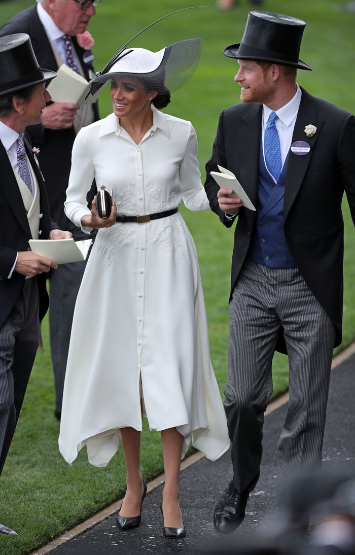 Meghan Markle wearing Givenchy to Ascot